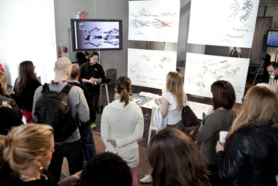 PUMA Nature of Performance Global Launch NYC_Ray Horacek_Brand Catalyst and Designer for Innovation, PUMA. Photo by David Lang (PRNewsFoto/PUMA SE)