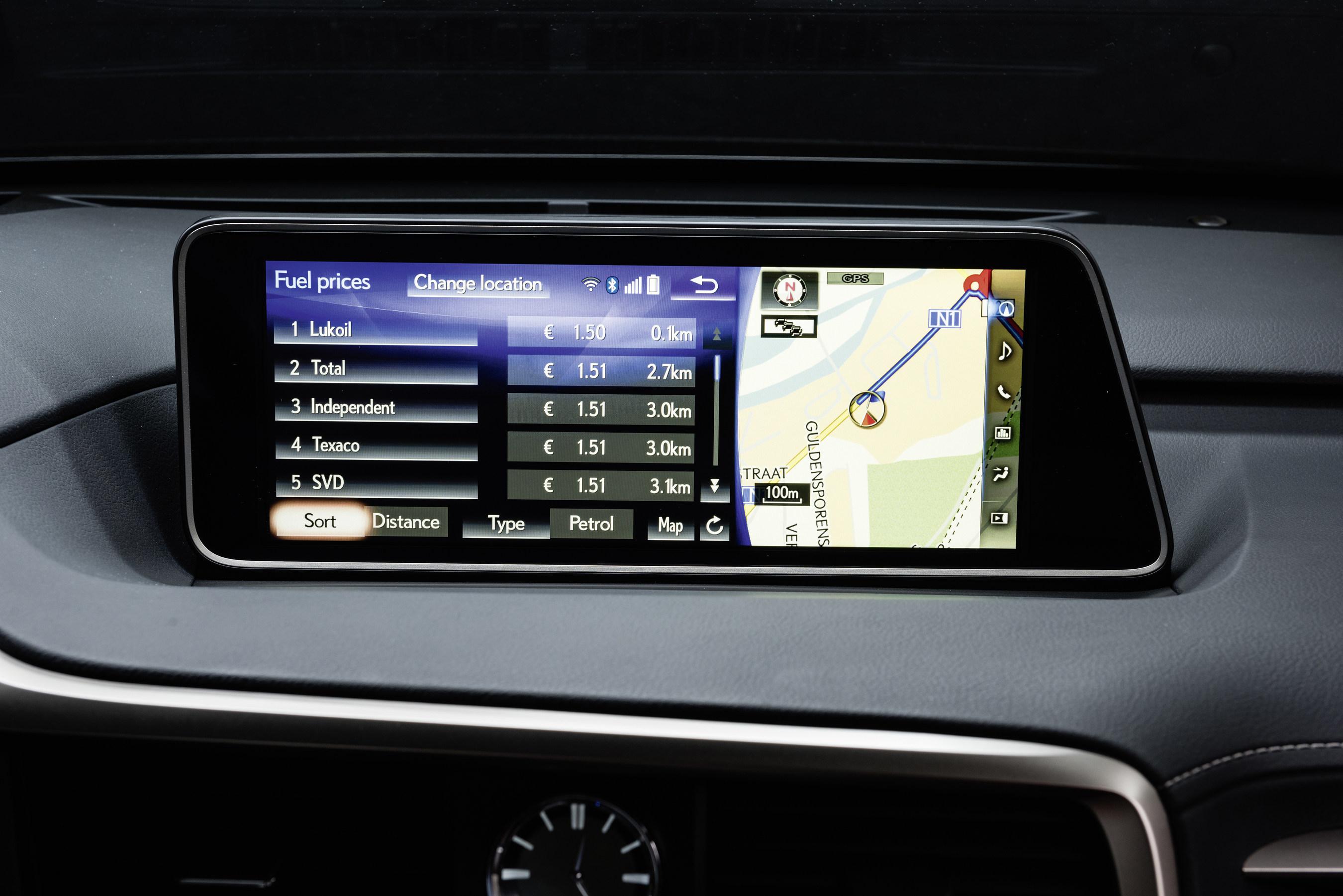Lexus étend son partenariat avec INRIX pour inclure ses services Weather et Fuel
