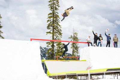 Mountain Dew creates SuperSnake, the ultimate snowboard and skateboard dream course on snow with professional athletes including Danny Davis, Sean Malto and more.