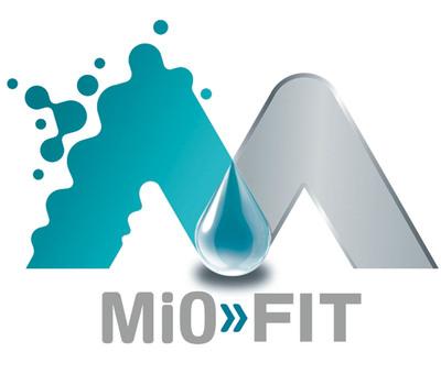 MiO Fit Berry Blast Logo.  (PRNewsFoto/Kraft)
