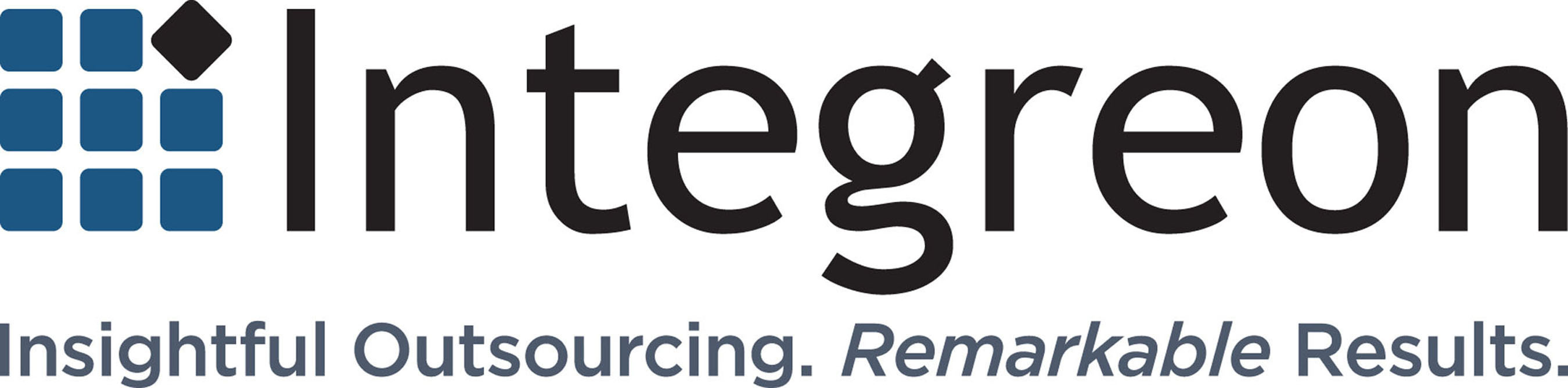 Integreon logo.