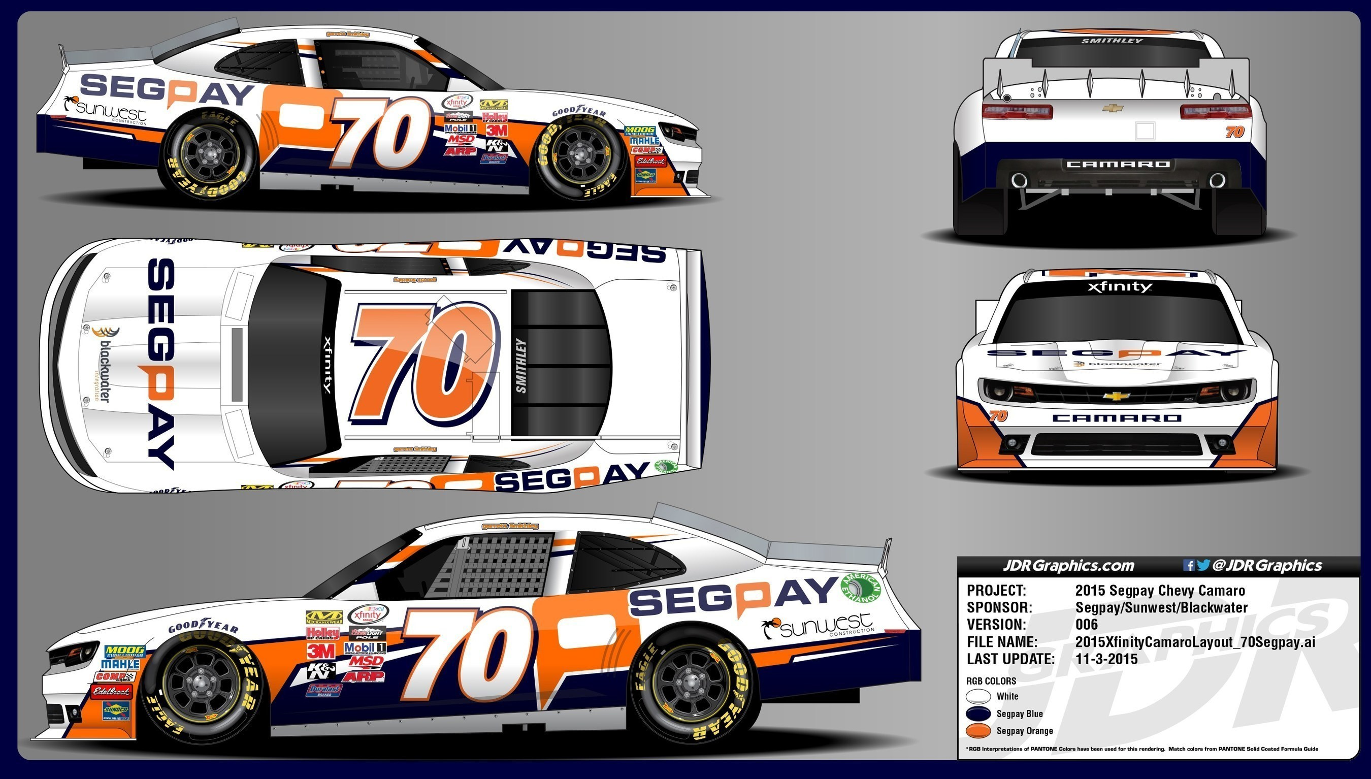 SegPay Returns To NASCAR In The Ford EcoBoost 300 At Homestead-Miami
