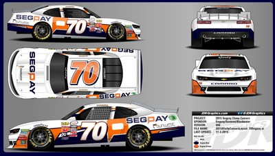 SegPay, a global leader in online payment processing returns to the track at Homestead-Miami Speedway.  SegPay is the primary sponsor of Garrett Smithley, an up-and-coming NASCAR driver, who will be make his Xfinity Series debut in the #70 SegPay Chevy.