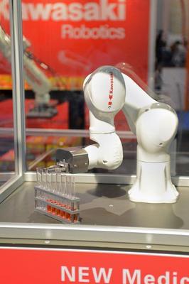 Robotics demonstration for medtech industry (PRNewsFoto/UBM Canon)
