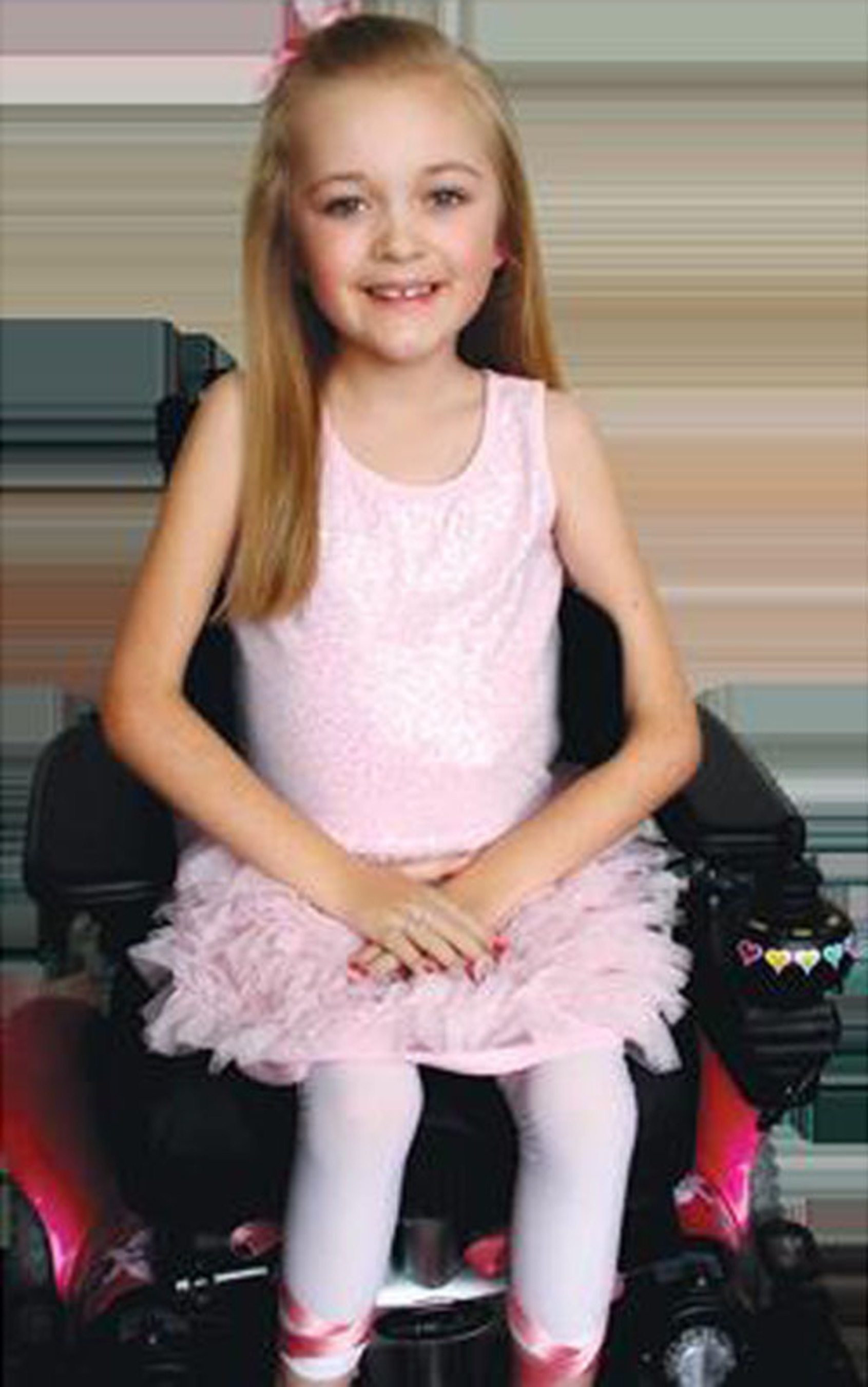 2014 MDA National Goodwill Ambassador, 8-year-old Reagan Imhoff.  (PRNewsFoto/Muscular Dystrophy Association)