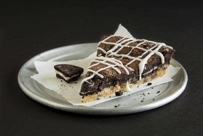 The Monster Brownie will compliment any Pie Five pizza or salad creation and of course satisfy chocolatey sweet cravings all by itself.
