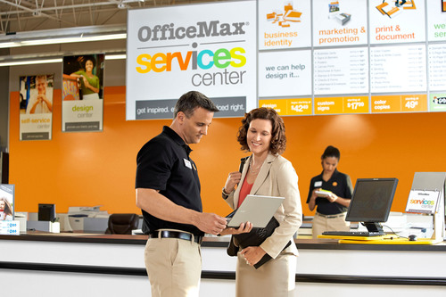 OfficeMax Incorporated today introduced its new Services Center located within stores nationwide to provide ...