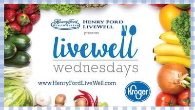 Henry Ford LiveWell Wednesdays LOGO