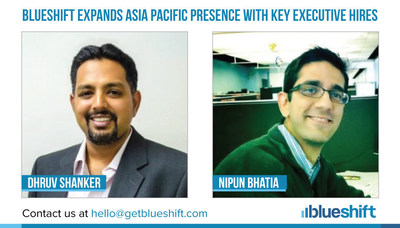 Blueshift Expands Asia Pacific Presence with Key Executive Hires