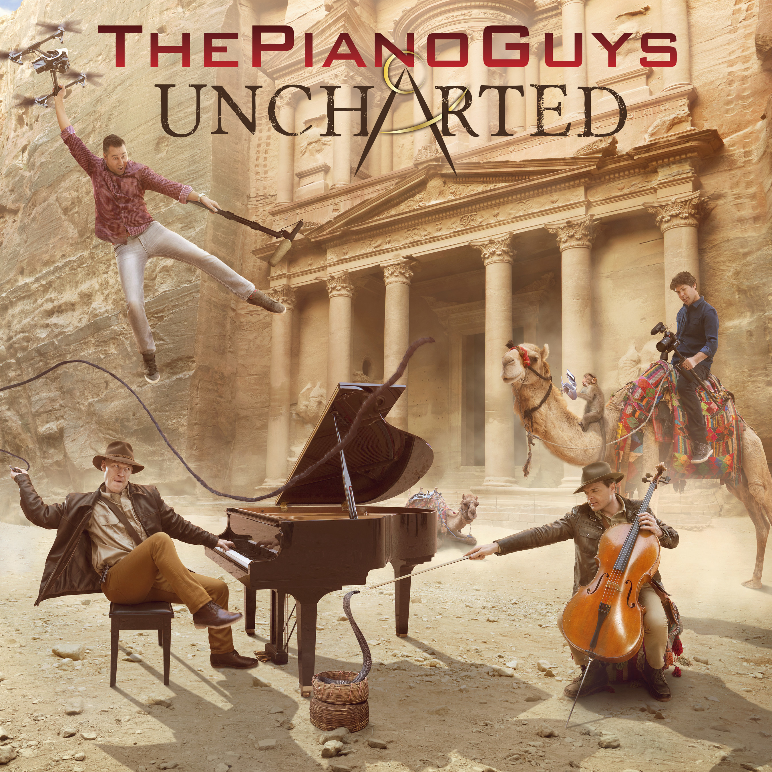 New Album UNCHARTED from The Piano Guys Out October 28