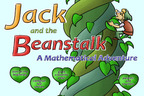 Jack and the Beanstalk a Mathematical Adventure - Math App.  (PRNewsFoto/MathFileFolderGames.com)