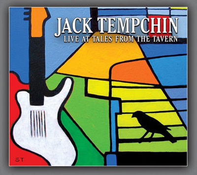Jack Tempchin - Live at Tales from the Tavern album cover.  (PRNewsFoto/Jack Tempchin)