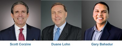 Scott Corzine, Duane Lohn and Gary Bahadur will practice within Ankura's Risk, Resilience & Geopolitical group.