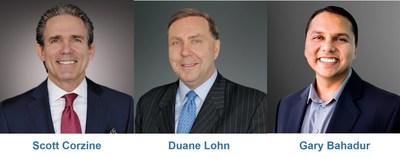 Scott Corzine, Duane Lohn and Gary Bahadur will practice within Ankura's Risk, Resilience & Geopolitical group.