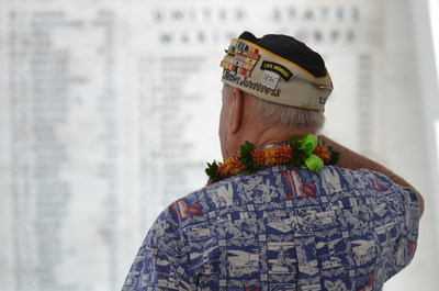On Monday, December 7, 2015 the National Park Service and the U.S. Navy will host a joint memorial ceremony commemorating the 74th anniversary of the attack on Pearl Harbor. The ceremony will take place at Kilo Pier at Joint Base Pearl Harbor-Hickam, looking directly out to the USS Arizona Memorial, at the World War II Valor in the Pacific National Monument. The ceremony will be attended by more than 3,000 guests, including Pearl Harbor survivors and WWII veterans, and will be broadcast via live webcast...