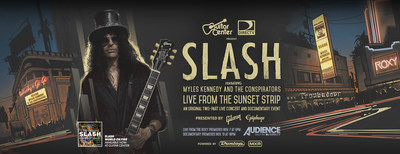 Guitar Center And DIRECTV Feature Iconic Guitarist SLASH In Original 2-Part Documentary And Live Concert Event
