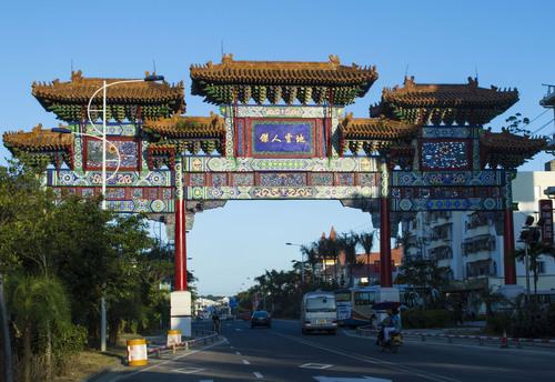 Xinglong Memorial Gateway. (PRNewsFoto/Business Operation Service Center of Global Smart City Summit Forum) ...