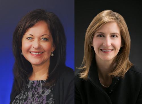 Deena Bosworth, Director of Governmental Affairs and Dana Gill, Governmental Affairs Associate. ...