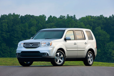 The 2013 Honda Pilot.  (PRNewsFoto/American Honda Motor Co., Inc.)