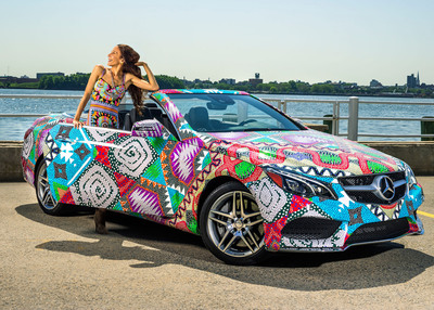 "Mara Hoffman Receives ""Mercedes-Benz Presents"" Title.  (PRNewsFoto/Mercedes-Benz USA)"