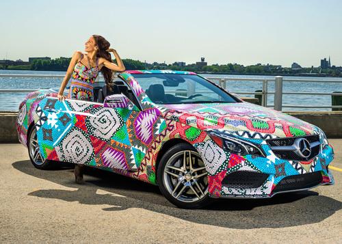"Mara Hoffman Receives ""Mercedes-Benz Presents"" Title.  (PRNewsFoto/Mercedes-Benz USA)"