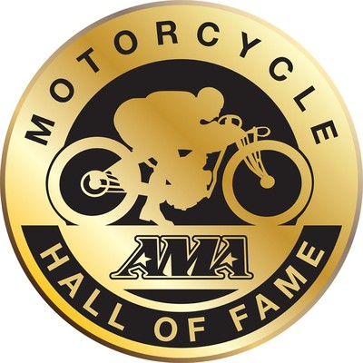 AMA Motorcycle Hall of Fame Logo. (PRNewsFoto/American Motorcyclist Assoc...)