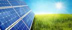 landscape with solar panel (PRNewsFoto/Innovative Solar Systems, LLC)