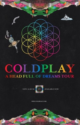 DUE TO OVERWHELMING DEMAND, COLDPLAY ANNOUNCES ADDITIONAL STADIUM SHOWS FOR A HEAD FULL OF DREAMS TOUR