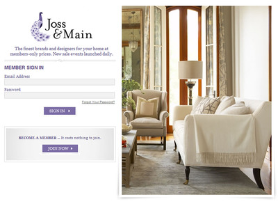 Joss main to bring daily dose of stylish serendipity to for Flash sale sites for home