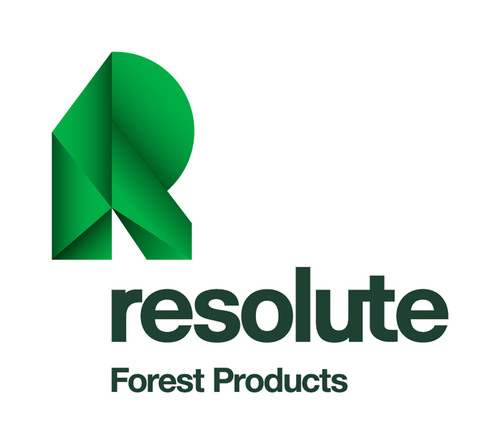 Forest Products logo represents the forest in which the Company works, the paper and lumber products it ...