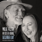 Legacy Recordings will release Willie Nelson and Sister Bobbie's December Day, the first installment of the Willie's Stash archival recordings series, on Tuesday, December 2.