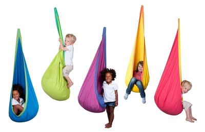 JOKI Hanging Nest for children by LA SIESTA.