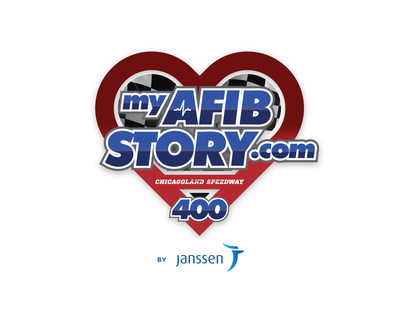 MyAFibStory.com 400 Official Race Logo