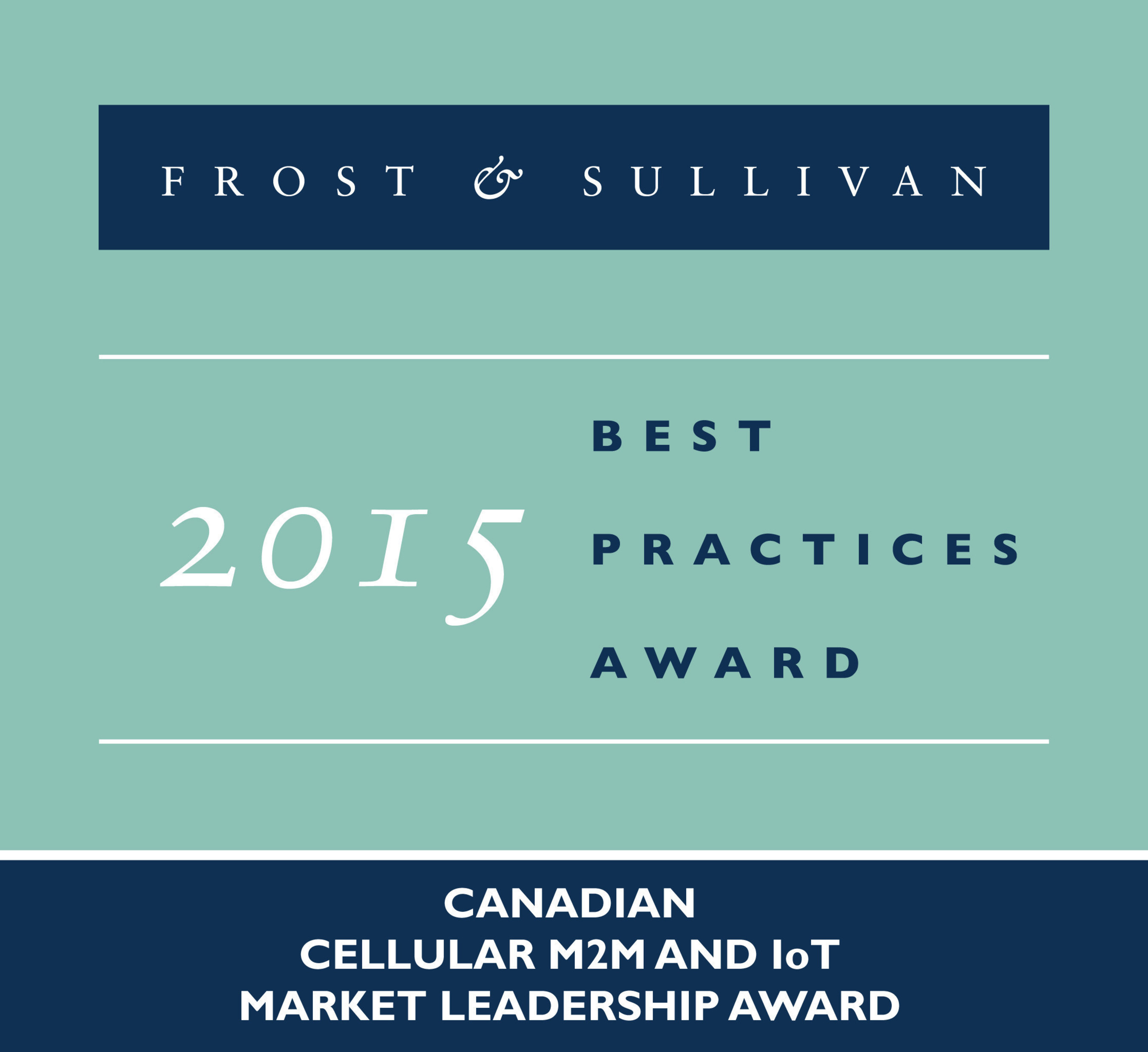Frost & Sullivan Lauds Rogers Communications' Successful Growth-oriented Market Strategy in the M2M and IoT Industry