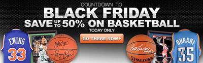 Sports Memorabilia Black Friday Countdown.  (PRNewsFoto/MyReviewsNow.net)