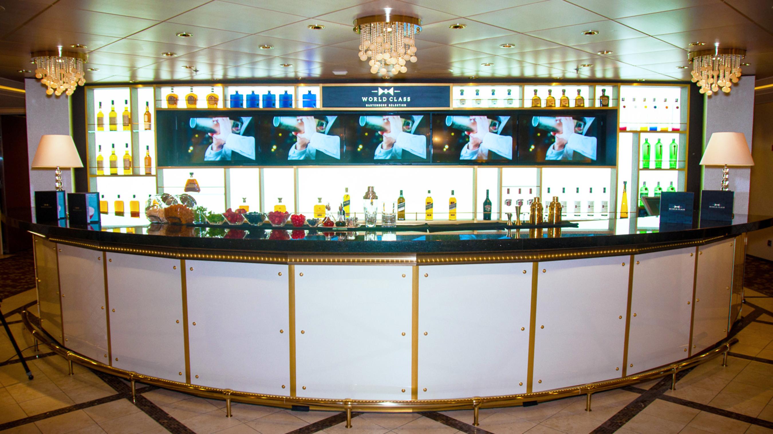 Celebrity Cruises' World Class Bar onboard the award-winning Celebrity Eclipse
