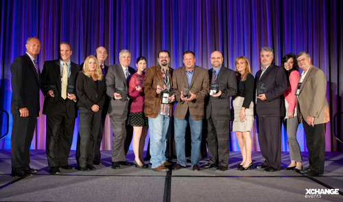 Congratulations Healthcare IT Summit XCellence Award Winners!  (PRNewsFoto/UBM Channel)