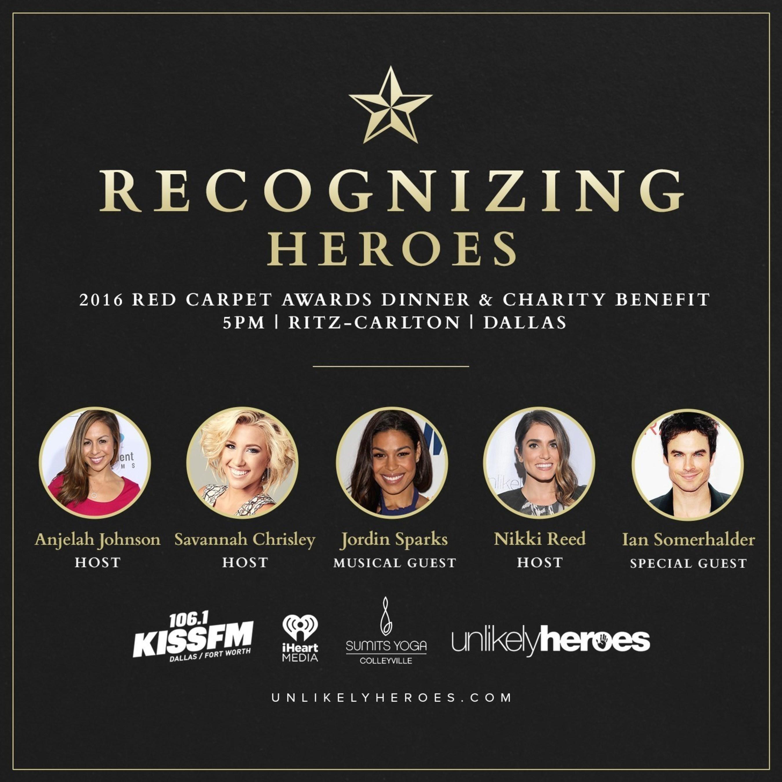 Unlikely Heroes Red Carpet Benefit Featuring Jordin Sparks, Nikki Reed, Anjelah Johnson