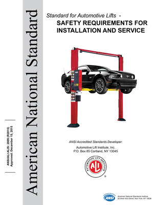 The American National Standard outlining safety requirements for automotive lift installation and service, ANSI/ALI ALIS 2009 (R2015), replaces the current standard, ANSI/ALI ALIS 2009, on June 15, 2016. For more information, visit www.autolift.org/ali-store/ansiali-alis-standard-2009/.
