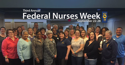 AFGE thanks Reps. Schakowsky, Ellison, Pocan, and Brownley for recognizing federal nurses during Federal Nurses Week