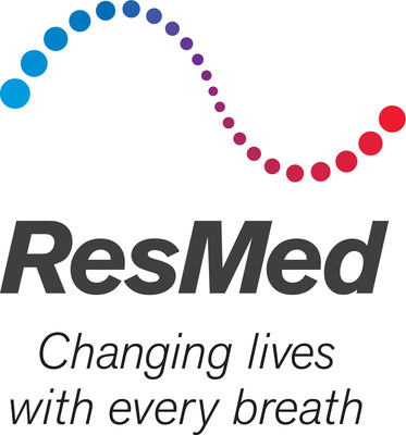 ResMed Inc. logo.