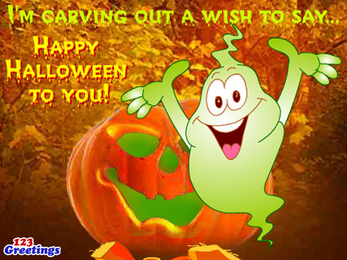 Happy Halloween! (PRNewsFoto/123Greetings.com, Inc.)