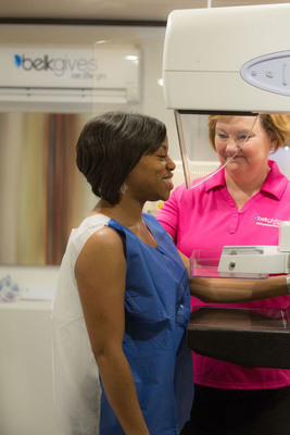 The BelkGives on the Go Mobile Mammography Center will offer screenings and will bring breast health awareness to women in North Carolina, South Carolina and Tennessee.