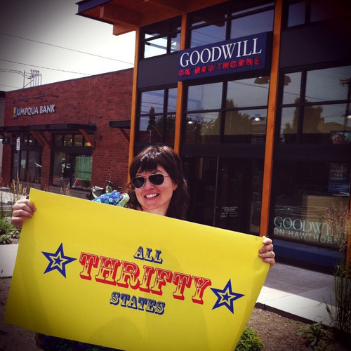 Goodwill(R) is proud to serve as a sponsor of All Thrifty States: A Visual Journey through America's ...