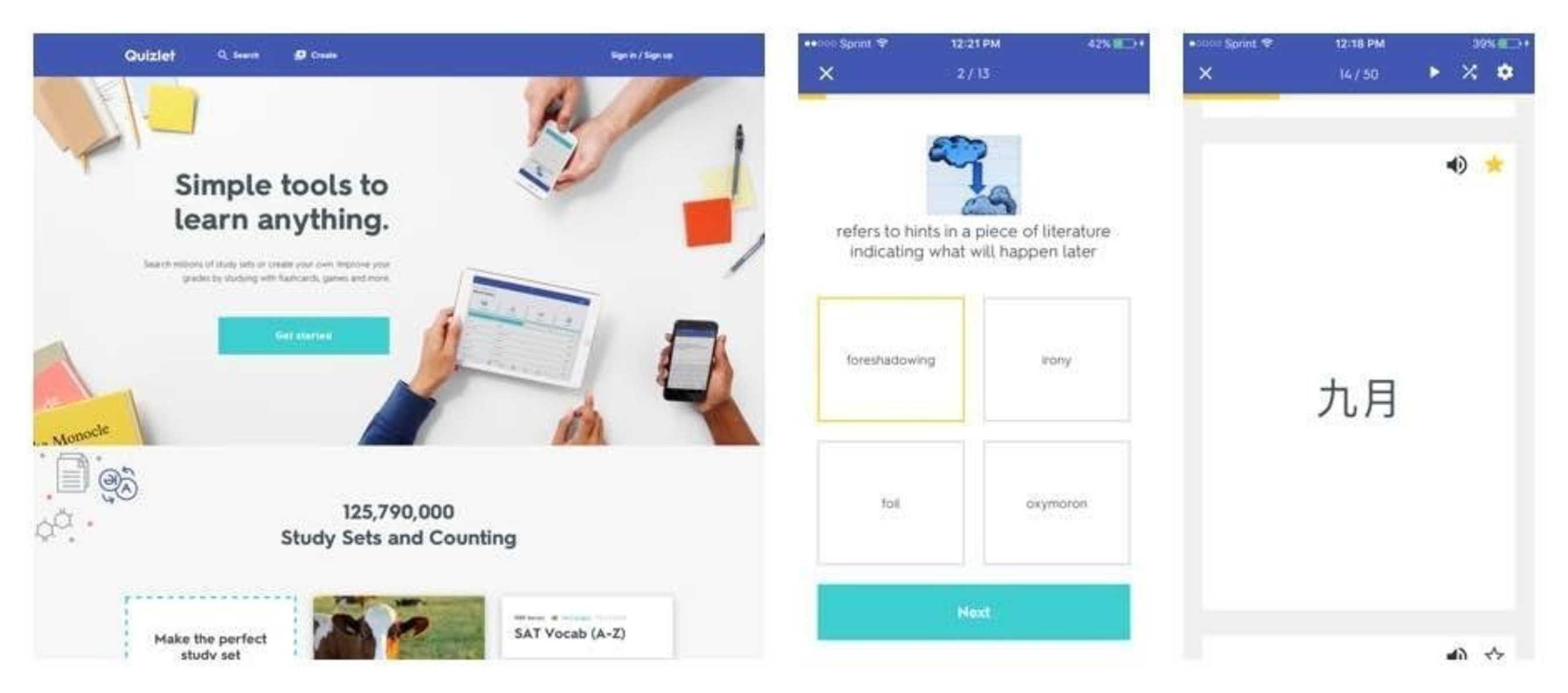 All New Quizlet Launches with International Focus Including