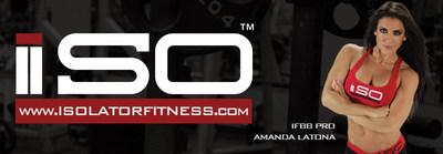 Amanda Latona signs with Isolator Fitness (PRNewsFoto/Isolator Fitness)