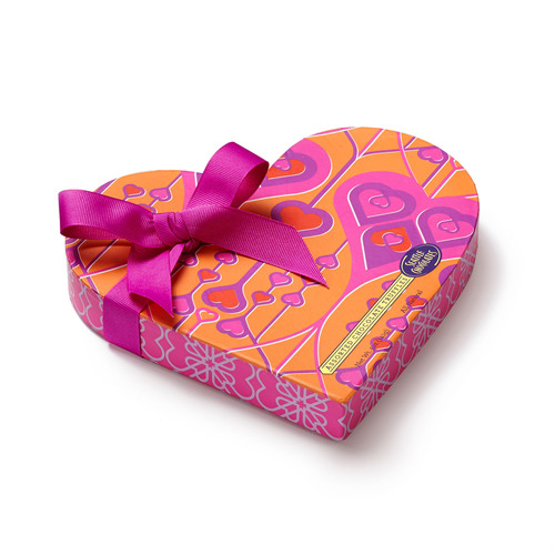 Seattle Chocolates Color My World Heart. (PRNewsFoto/Seattle Chocolate Company) (PRNewsFoto/SEATTLE CHOCOLATE ...