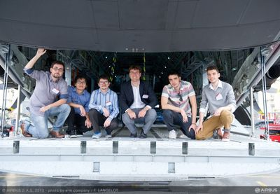 Students from the University of São Paulo in Brazil win the €30,000 first prize at the Airbus Fly Your Ideas 2013 challenge. The competition is a global student challenge seeking innovations for the future of flight.