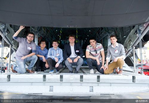 Students from the University of São Paulo in Brazil win Airbus Fly Your Ideas Global Competition