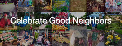 Celebrate #goodneighbors with Nextdoor.com in honor of National Good Neighbor Day. (PRNewsFoto/Nextdoor)